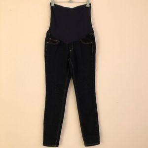 Dark Blue Maternity Jeans
